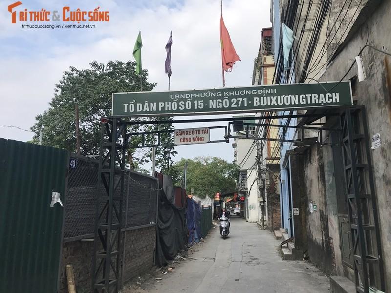 Hang loat cong trinh xay dung trai phep tren dat nong nghiep o Khuong Dinh - Ha Noi?