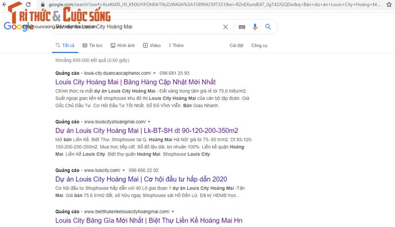 "CenLand ""bat tay"" Cty con TD La Vong ban Louis City Hoang Mai tren bai dat trong?-Hinh-2"