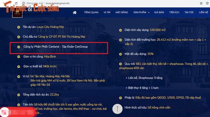 "CenLand ""bat tay"" Cty con TD La Vong ban Louis City Hoang Mai tren bai dat trong?-Hinh-4"