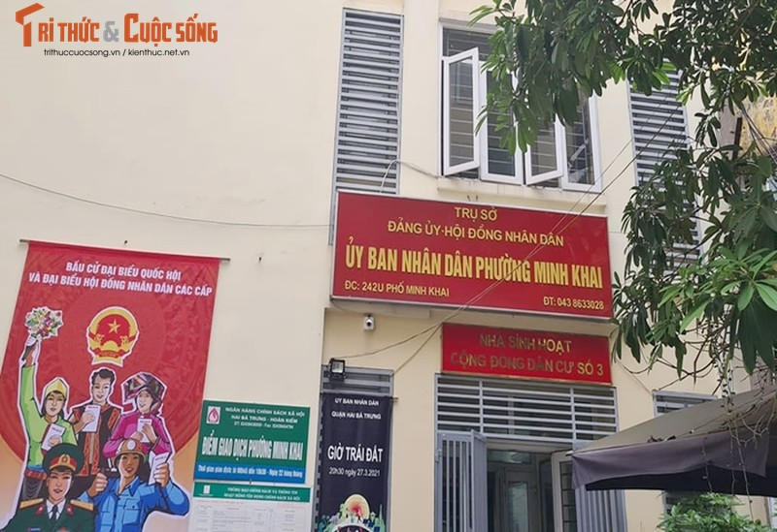 "Cong trinh 189 Minh Khai vi pham TTXD ""moc"" tren duong vanh dai 2-Hinh-3"