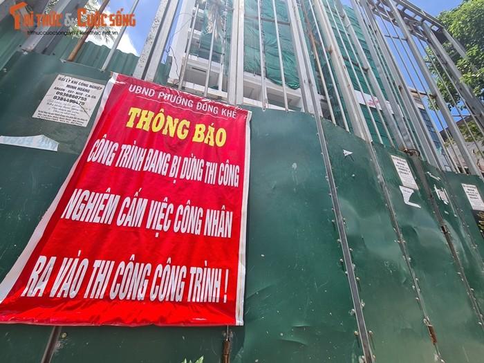 """Hai Phong: Cong trinh 15 tang """"moc"""" khong phep o phuong Dong Khe-Hinh-6"""