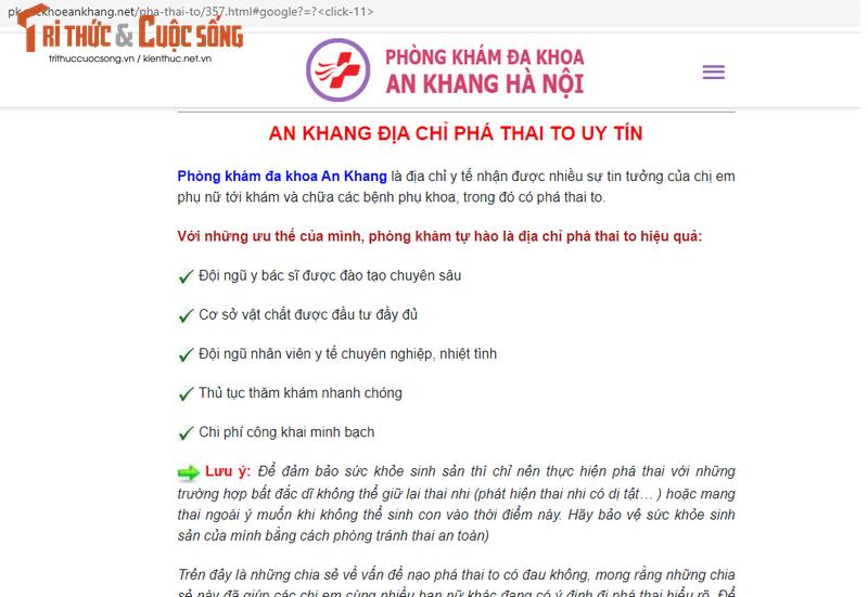 Ha Noi: Phong kham An Khang bi to nhieu sai pham?-Hinh-7
