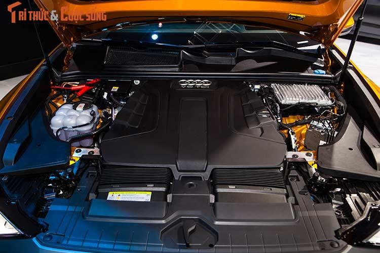 Chi tiet xe sang Audi Q8 gia 4,5 ty dong tai Viet Nam-Hinh-12
