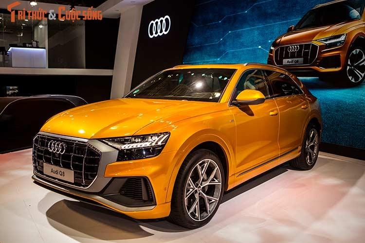 Chi tiet xe sang Audi Q8 gia 4,5 ty dong tai Viet Nam-Hinh-14