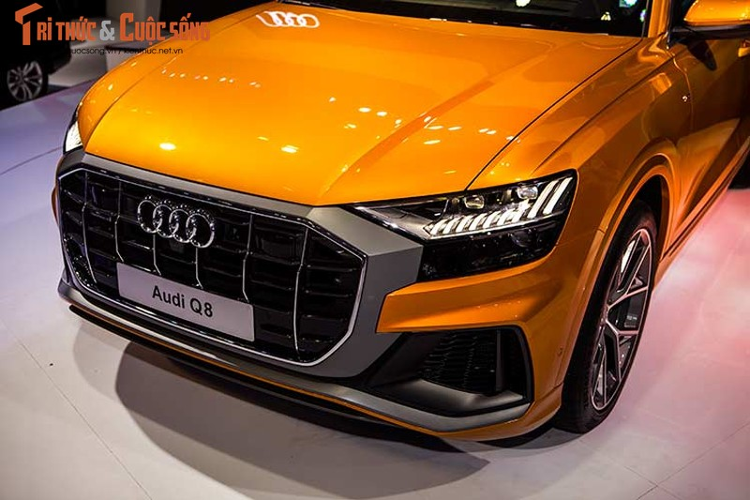 Chi tiet xe sang Audi Q8 gia 4,5 ty dong tai Viet Nam-Hinh-3