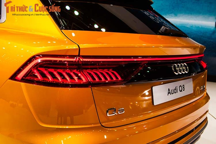 Chi tiet xe sang Audi Q8 gia 4,5 ty dong tai Viet Nam-Hinh-5