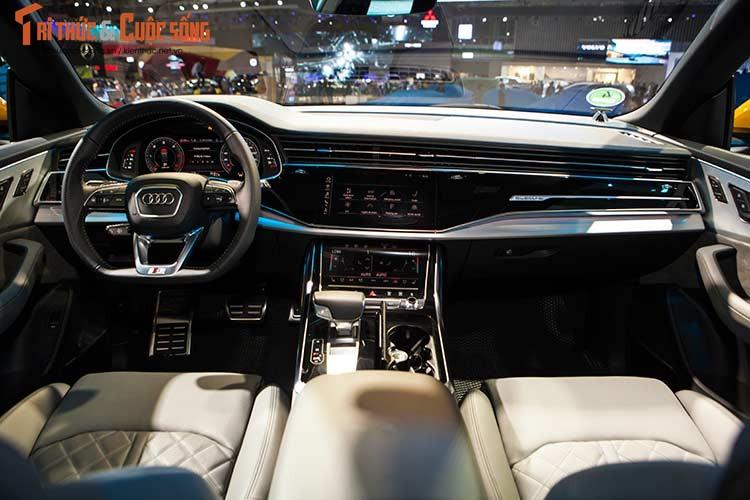 Chi tiet xe sang Audi Q8 gia 4,5 ty dong tai Viet Nam-Hinh-7