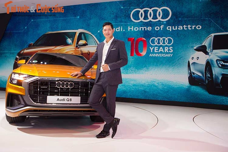 Chi tiet xe sang Audi Q8 gia 4,5 ty dong tai Viet Nam
