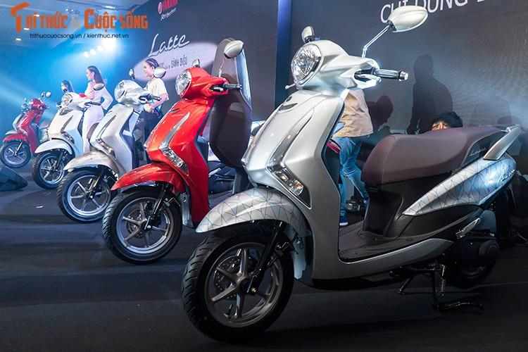"""Yamaha Latte gia 37,9 trieu tai Viet Nam """"dau"""" Honda Lead-Hinh-11"""