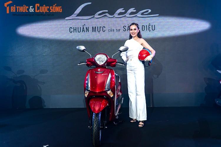 """Yamaha Latte gia 37,9 trieu tai Viet Nam """"dau"""" Honda Lead-Hinh-12"""
