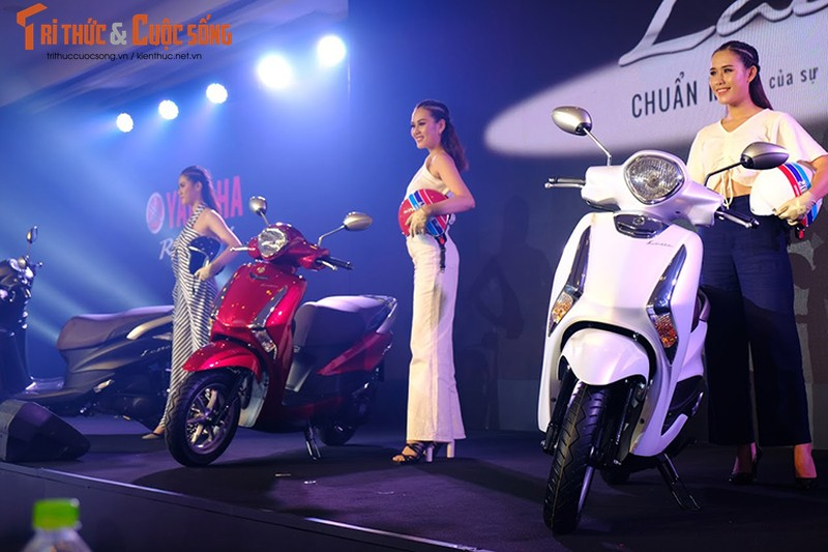 """Yamaha Latte gia 37,9 trieu tai Viet Nam """"dau"""" Honda Lead-Hinh-2"""