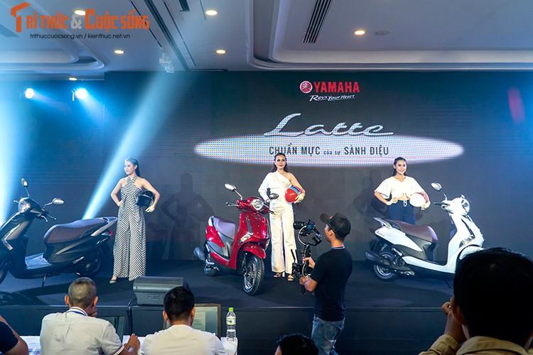 """Yamaha Latte gia 37,9 trieu tai Viet Nam """"dau"""" Honda Lead"""