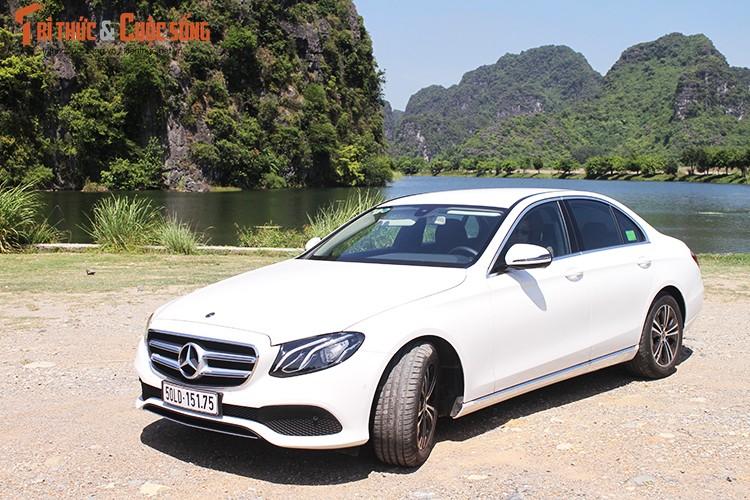 Danh gia Mercedes-Benz E180 2020, hon 2 ty tai Viet Nam