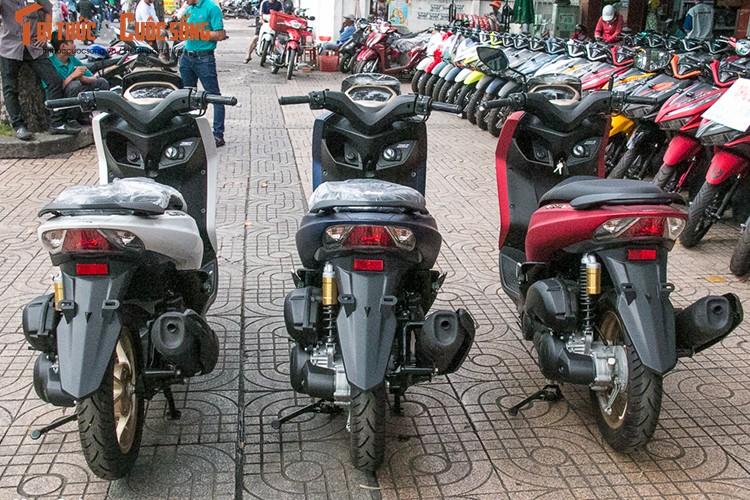 Yamaha Lexi S gia re, doi thu Honda PCX ve Viet Nam-Hinh-10