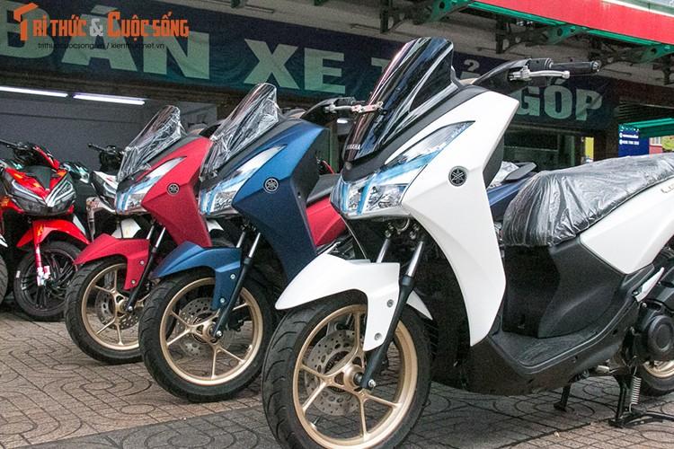 Yamaha Lexi S gia re, doi thu Honda PCX ve Viet Nam-Hinh-11