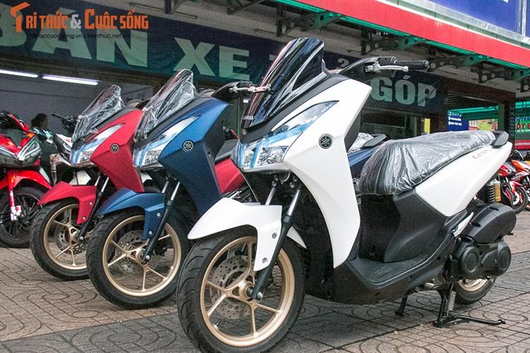 Yamaha Lexi S gia re, doi thu Honda PCX ve Viet Nam-Hinh-2