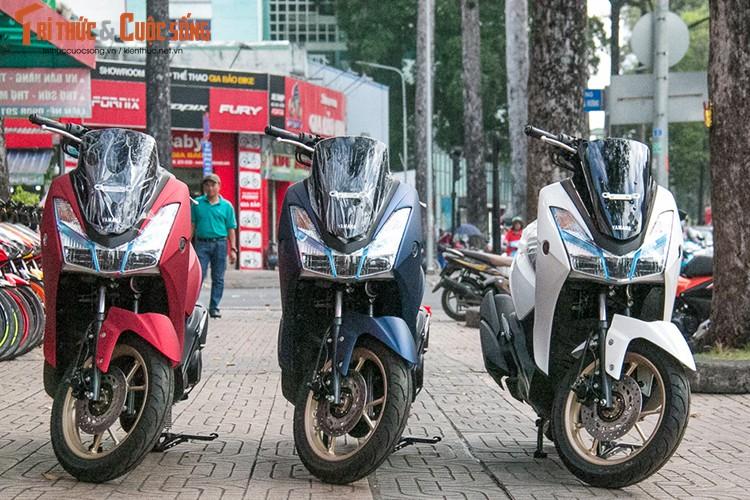 Yamaha Lexi S gia re, doi thu Honda PCX ve Viet Nam