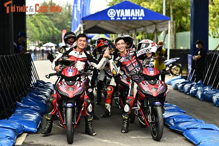 Dan choi xe may Viet do ve Can Tho tham du Yamaha GP 2021-Hinh-14
