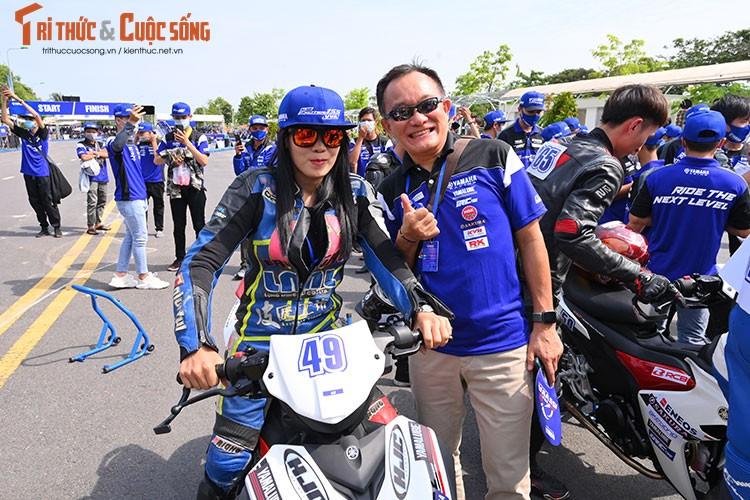 Dan choi xe may Viet do ve Can Tho tham du Yamaha GP 2021-Hinh-2