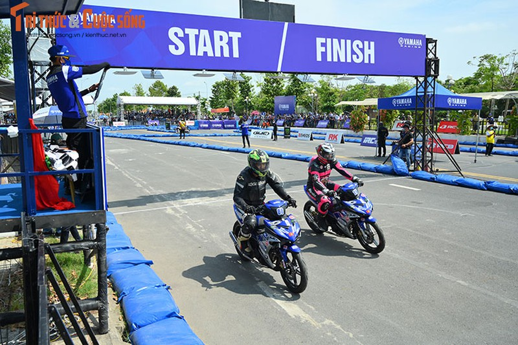 Dan choi xe may Viet do ve Can Tho tham du Yamaha GP 2021-Hinh-5