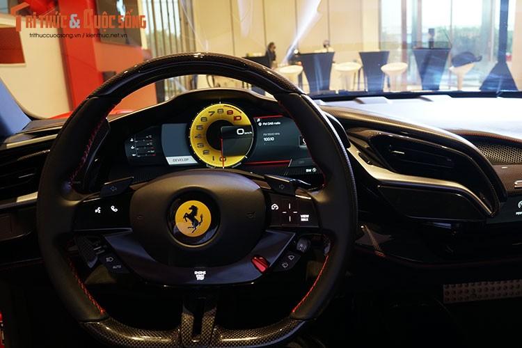 Ferrari SF90 Stradale chinh hang Viet Nam, re hon nhap tu 10 ty-Hinh-7